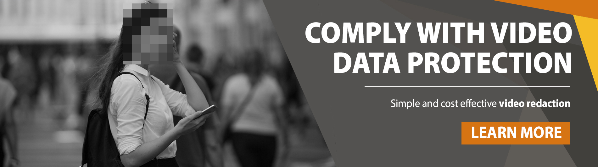 Comply with video data protection